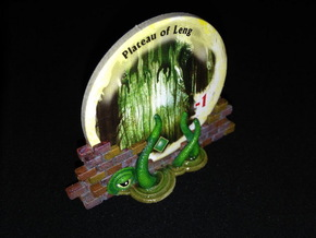 Gate Holders (6 pcs) - Arkham Horror in White Processed Versatile Plastic