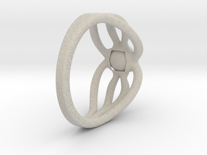 Octopus ring in Natural Sandstone