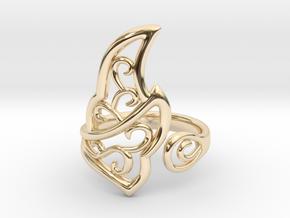 Kaya's Ring in 14K Yellow Gold