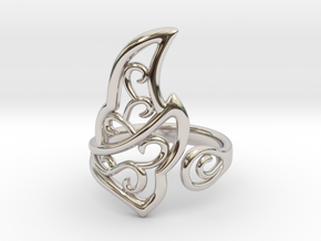 Kaya's Ring in Platinum
