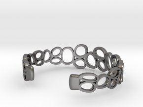 Rings and Things Bracelet in Polished Nickel Steel