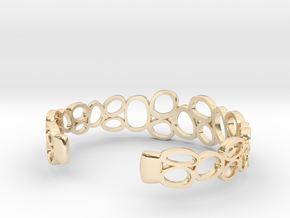 Rings and Things Bracelet in 14K Yellow Gold