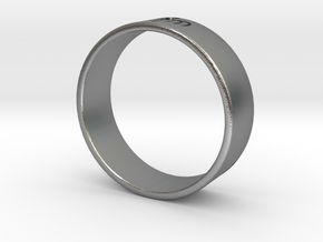 James Bond: Spectre Ring - Size 12.5 in Natural Silver