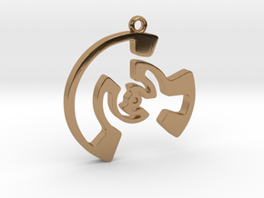 Labyrinth Series #3 in Polished Brass