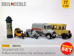 BONUS SET «Berlin» (TT 1:120) in Smooth Fine Detail Plastic