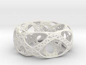 Frohr Design Bracelet Bridge in White Strong & Flexible