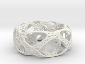 Frohr Design Bracelet Bridge in White Natural Versatile Plastic