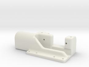 Model aeroplane aerotow hook for towplane in White Natural Versatile Plastic