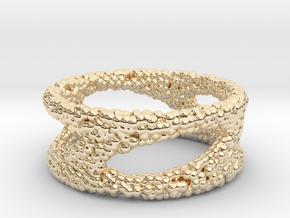 Frohr Design Bracelet Sphere in 14k Gold Plated Brass