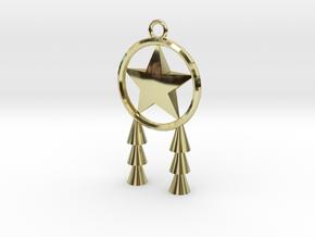 Miniature Parol in 18k Gold Plated Brass