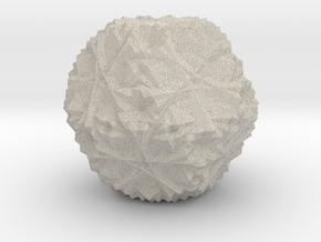 Cuboctahedron 30 Compound, Solid in Natural Sandstone