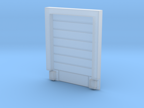8X10 Roll Up Door; Closed - w/Leveler - Surface in Frosted Ultra Detail