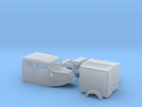 Tempo Dreirad Variante 5 / 1:87 H0 in Smooth Fine Detail Plastic