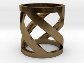 Ring in Polished Bronze