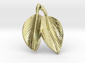 leaves pendant in 18k Gold