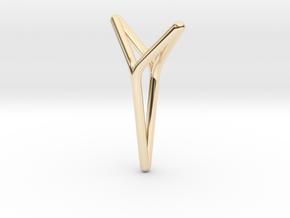 YOUNIVERSAL ONE, Pendant in 14K Yellow Gold