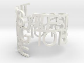 resslertaxman in White Natural Versatile Plastic