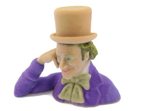 Creepy Condescending Willy Wonka in Full Color Sandstone