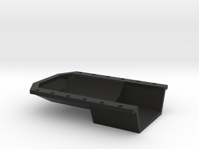 22R 1-10 motor Oil Pan  in Black Strong & Flexible