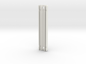 Clamp Bar in White Natural Versatile Plastic