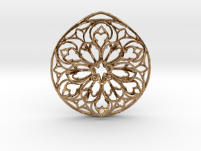 Arche Pendant (Cathedral Series, No. 1) in Polished Brass