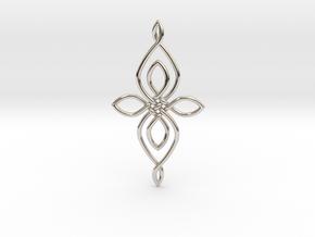Custom Celtic Knot 01 in Platinum