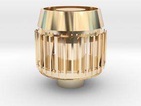 Cybergun Part in 14k Gold Plated Brass