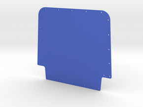 Rebel HOOD in Blue Processed Versatile Plastic
