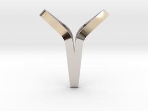 YOUNIVERSAL BOND, Pendant. Pure Elegance in Platinum