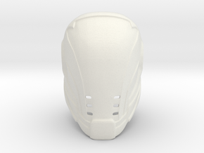 Gabriel Helmet - Last Man Standing in White Natural Versatile Plastic