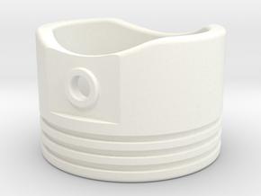 Piston - US Size 8 in White Processed Versatile Plastic