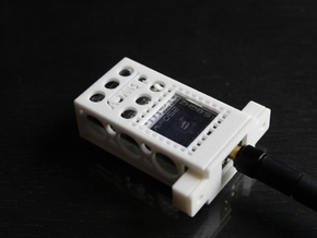 Fatshark Predator V2 TX Box - d3wey in White Strong & Flexible