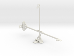 Samsung Galaxy Tab 4 8.0 tripod & stabilizer mount in White Natural Versatile Plastic