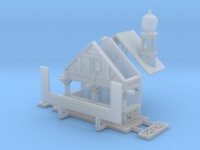 Zwiebelturmbude - 1:220 (Z scale) in Smooth Fine Detail Plastic