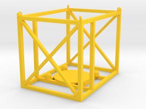 Frame1 in Yellow Processed Versatile Plastic