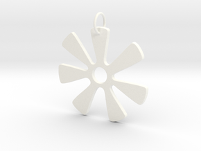 Ananse (wisdom) in White Processed Versatile Plastic