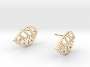 Mini leaf in 14K Yellow Gold