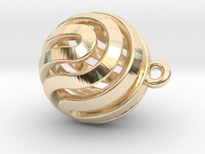 Ball-small-14-3 in 14k Gold Plated Brass