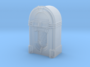 28mm/32mm scale JukeBox  in Smooth Fine Detail Plastic