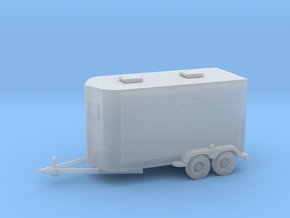 2 Horse Bumperpull Trailer in Frosted Ultra Detail