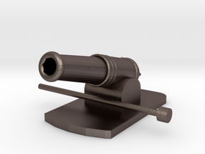 Miniature Metal Functional Cannon in Stainless Steel