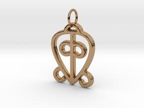 ODO NNYEW FIE KWAN  in Polished Brass