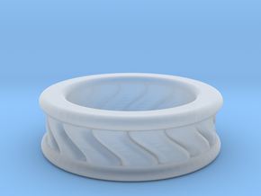 Chunky Vortex Ring in Smooth Fine Detail Plastic