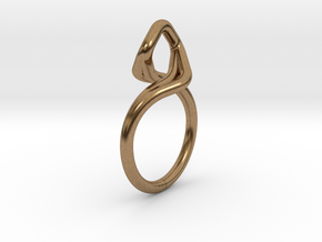 A-LINE Dancing D.03, US size 3.5, d=14,5mm in Natural Brass: 3.5 / 45.25