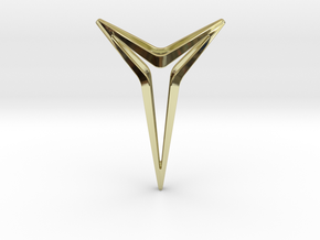 YOUNIVERSAL Star S.02 Pendant in 18k Gold Plated