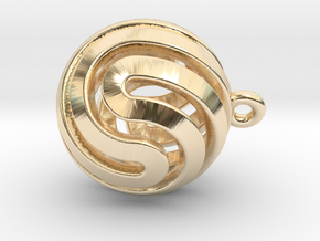Ball-small-14-5 in 14K Yellow Gold