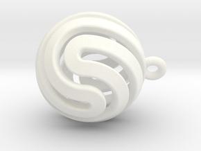 Ball-small-14-5 in White Processed Versatile Plastic