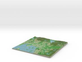 Terrafab generated model Thu Nov 26 2015 23:06:55  in Full Color Sandstone