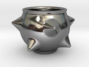 Spike Guinomi (01) in Fine Detail Polished Silver