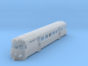 T1 Railcar Ho in Smooth Fine Detail Plastic